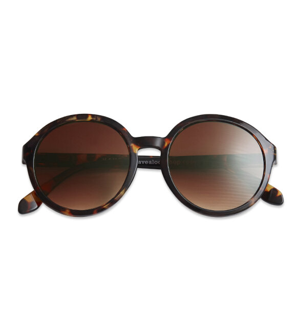 Have A Look - Solbrille Diva Tortoise