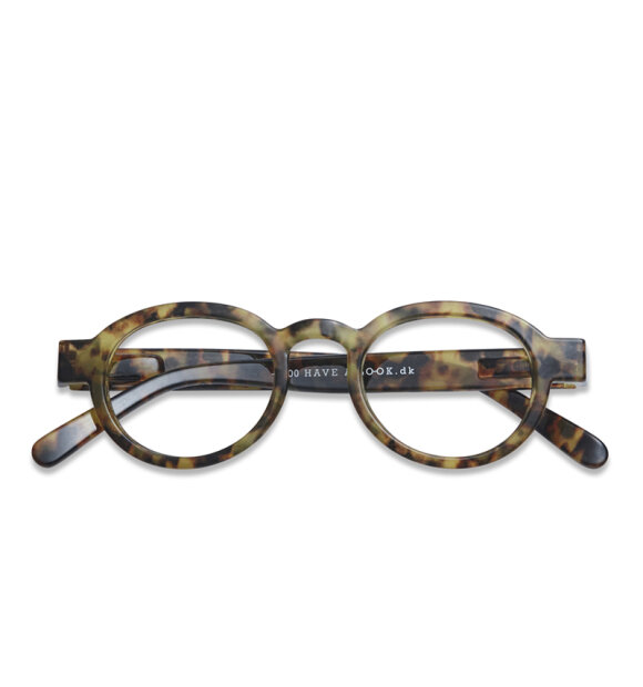 Have A Look - Læsebrille Circle Twist, Tortoise