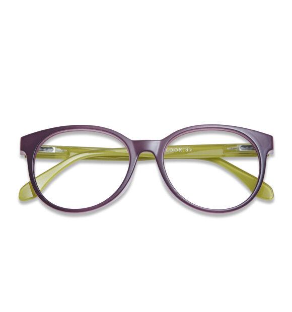 Have A Look - Læsebrille City, Plum