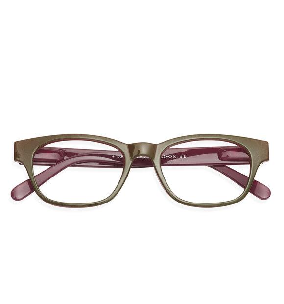 Have A Look - Læsebrille Mood, Olive/Plum