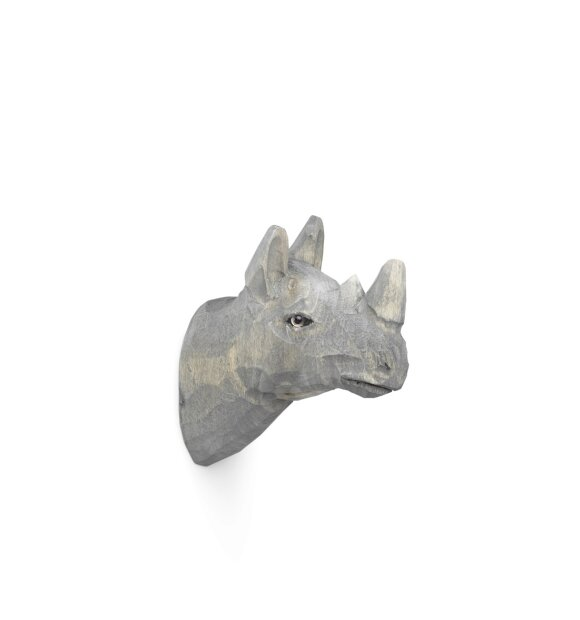 ferm LIVING Kids - Animal Hook, Næsehorn