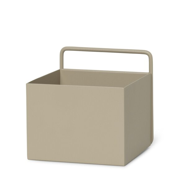 ferm LIVING - Wall Box Square, Cashmere