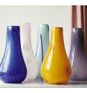 Kodanska - Vase Flow, Purple Print