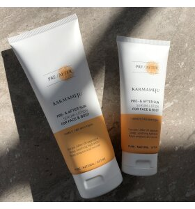 Karmameju - Pre-/After Sun Serum-lotion, Travel Size