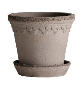 Bergs Potter - Københavnerpotten Grå, 14 cm.