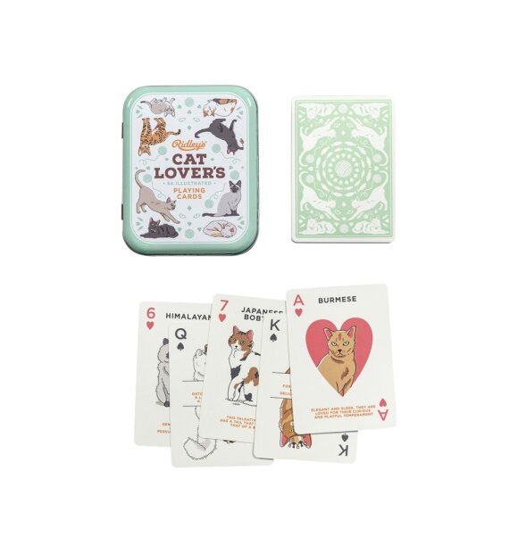 Ridleys - Cat Lovers spillekort