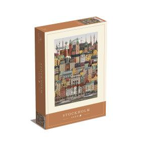 Martin Schwartz - Puslespil Stockholm 1000 brikker