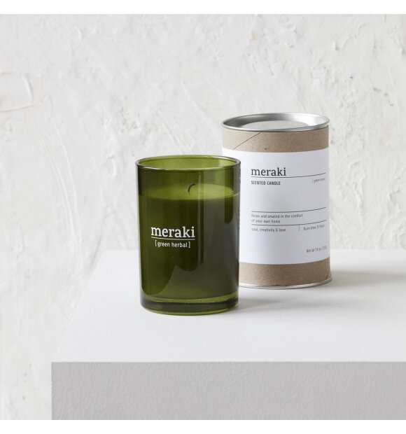 meraki - Duftlys, Green Herbal