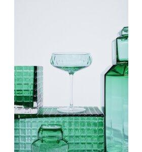 Louise Roe - Champagneskål, Grøn