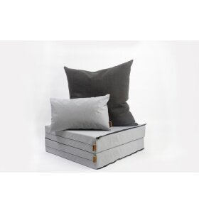 Skriver Collection - Orlando pallehynde, Light Grey