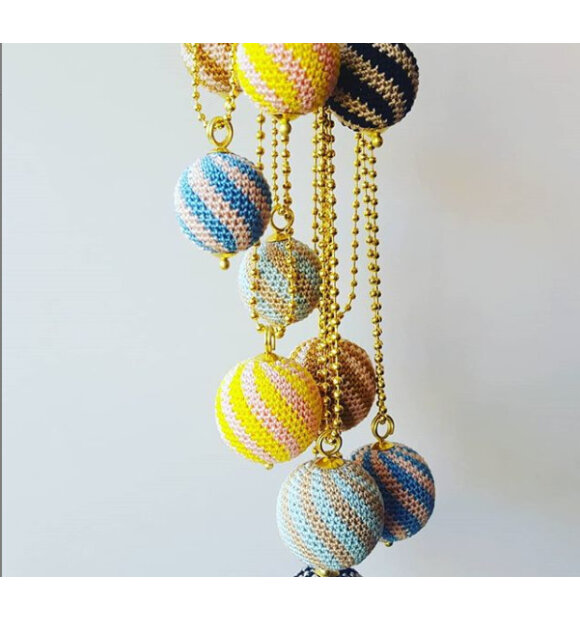 we love - Halskæde Stripes, Lang