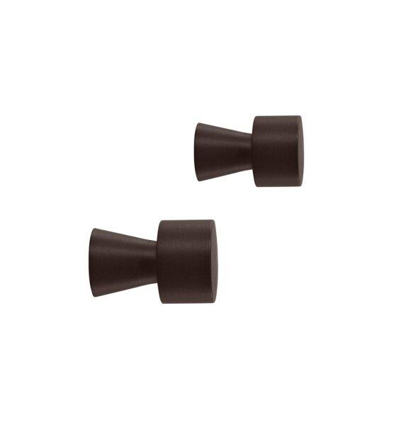 OYOY Living Design - Pin Hooks 2 stk., Bruneret