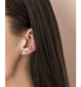 Vincent - Gudrun øreringe, Forgyldt