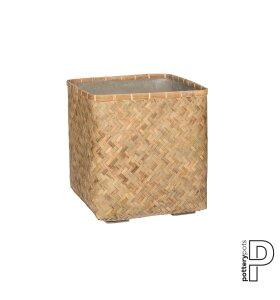potterypots - Stor Urtepotteskjuler Bambus med beton indeni - Hent selv