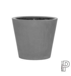potterypots - Bucket M, Grey - Hent selv