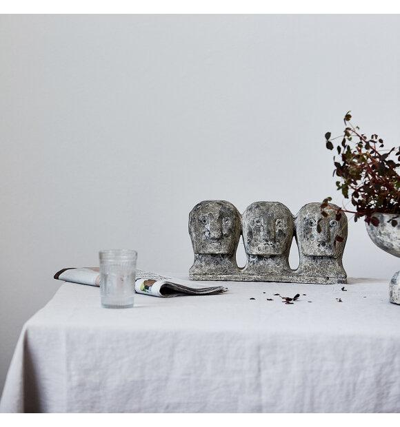 House Doctor - Ancient head, Grå/Brun