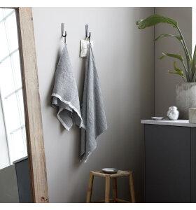 House Doctor - Håndklæde Latur, Gråmeleret 50*100