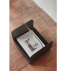OYOY Living Design - Maki Kurv/magasinholder, Brun