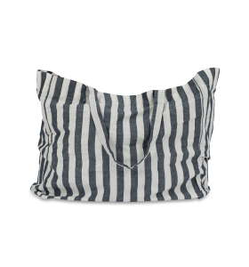 Studio Feder - Tote Bag Wide stripe, Navy