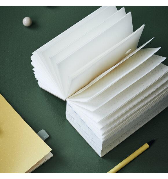 MONOGRAPH - Notesblok Notes, Gul