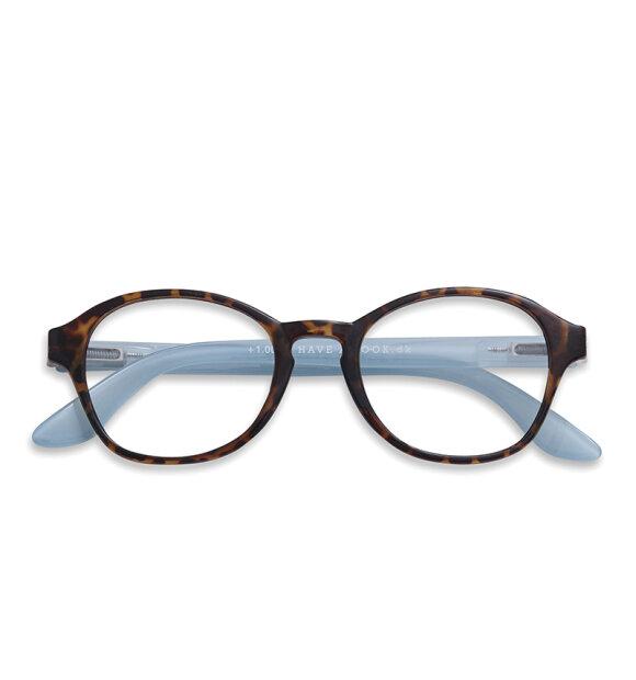 Have A Look - Læsebrille Circle, Tortoise/blue