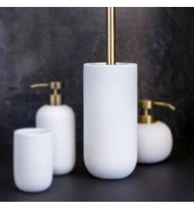 Mette Ditmer - Lotus toiletbørste, Hvid