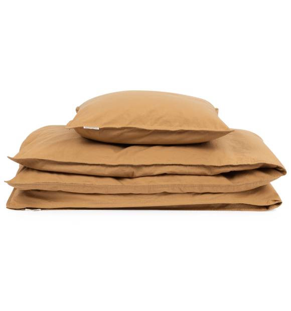 Studio Feder - GOTS økologisk sengesæt, Oak 140*200