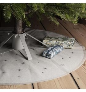 ferm LIVING - Star Juletræstæppe, Sand
