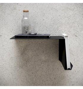 NICHBA DESIGN - Sengebord sort, vælg højre/venstre