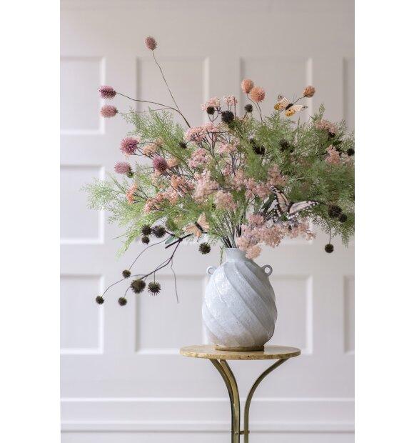 BUNGALOW - Vase Hvid, 29 cm.
