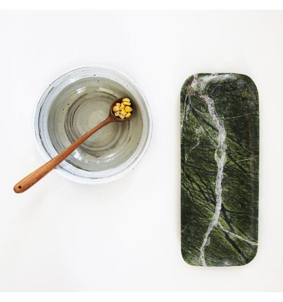 HK living - Grøn marmorbakke