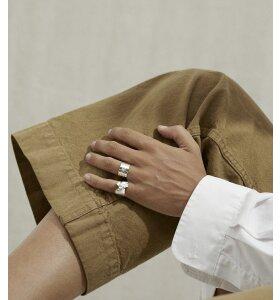 Trine Tuxen - Ava fingerring, forgyldt