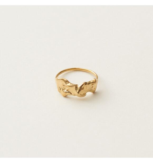 Studio Loma - Ann ring, Guld