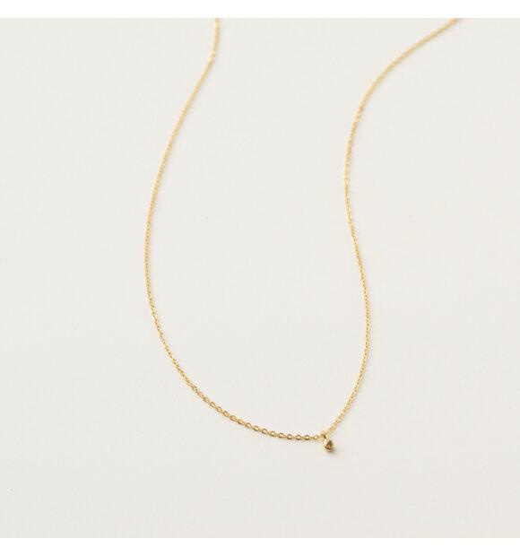 Studio Loma - Sue halskæde, Hvid diamant
