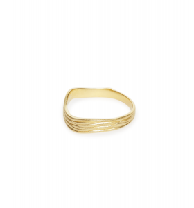 Trine Tuxen - Ring Mushroom, Forgyldt