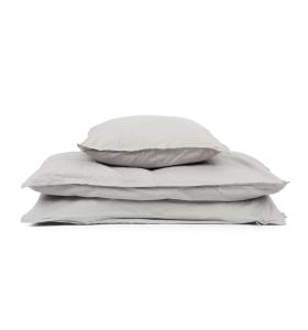 Studio Feder - GOTS økologisk sengesæt, Grå 140*200
