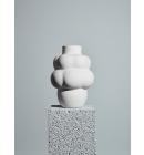 Louise Roe - Ceramic Balloon Vase #04, Raw White