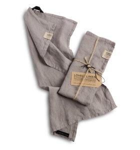 Lovely Linen - Misty gæstehåndklæde 35*50