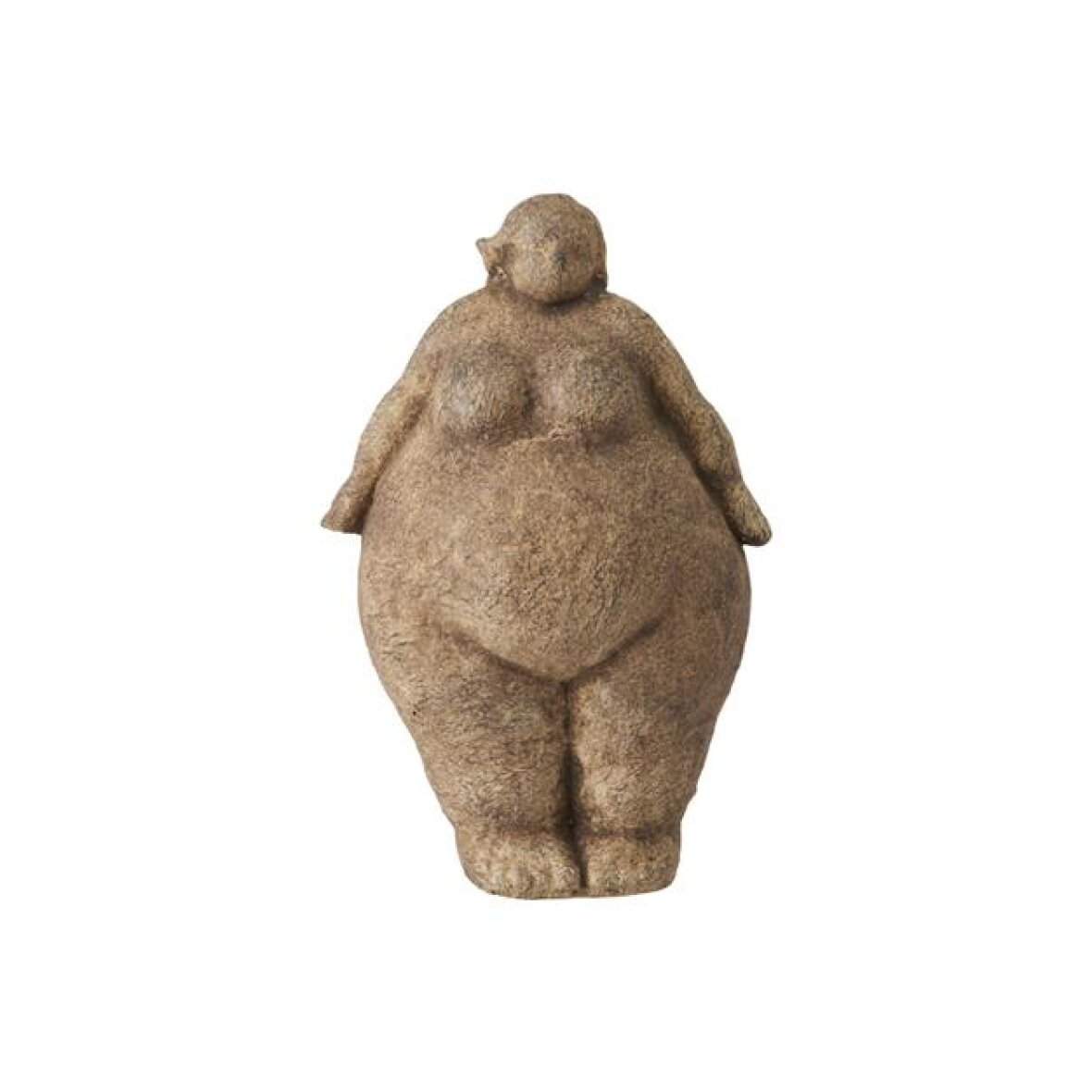 Figur Tyk Dame 17*26 fra Lauvring - hent selv