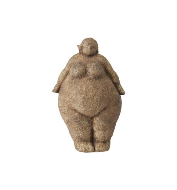 Lauvring - Figur Tyk Dame 17*26 - Hent selv