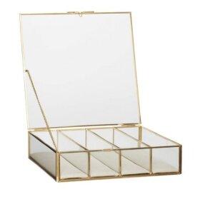 Hübsch - Glasæsker, 3 i sæt