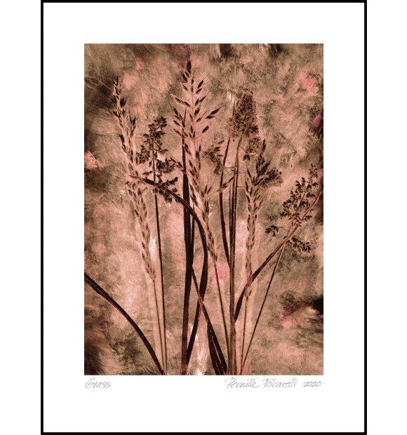 Pernille Folcarelli - Grass dark blush 50*70
