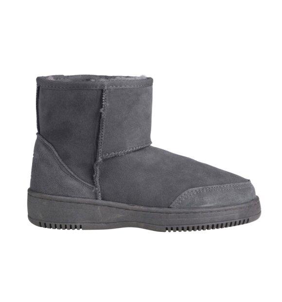 New Zealand Boots - Støvle ultrakort vinter, Grå