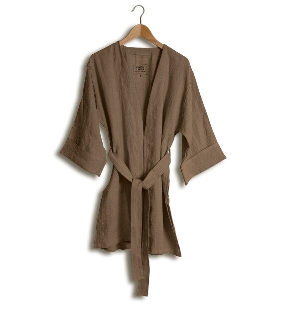 Lovely Linen - Lovely Kimono, Almond