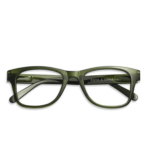 Have A Look - Læsebrille Type B, Grøn