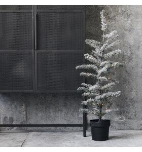 House Doctor - Juletræ Flocked, 70 LED-lys