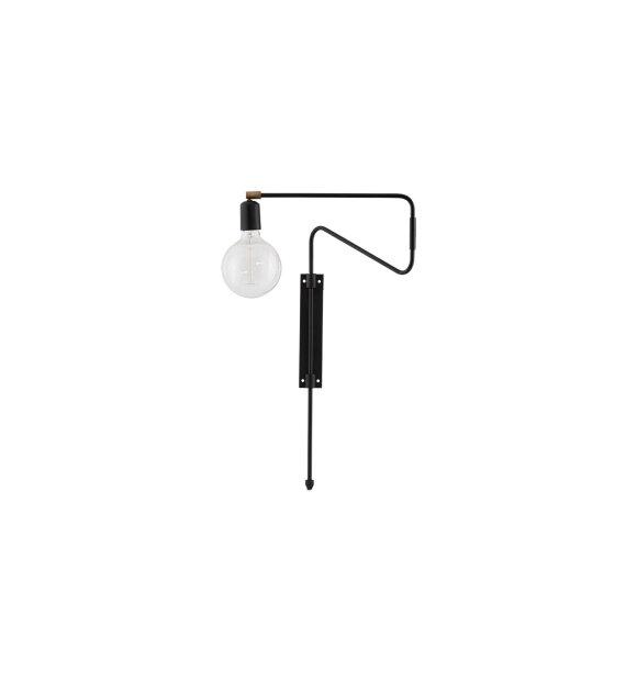 House Doctor - Væglampe, Swing sort