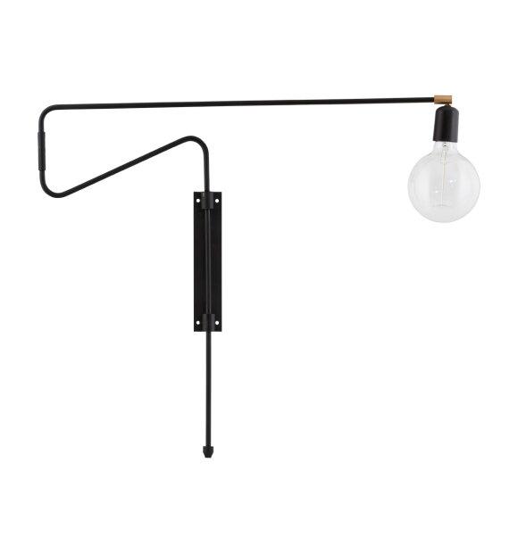 House Doctor - Væglampe Swing, Sort