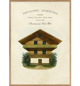 The Dybdahl Co. - Habitations Champêtres 50*70 Indrammet, Sendes ikke
