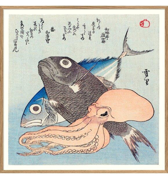 The Dybdahl Co. - Sashimi Gang #2, 61*61 indrammet, Sendes ikke